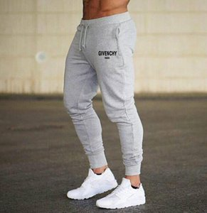 2021 brand joggers Gyms Designer Pants Casual Sweatshirt Muscle Basketball Men s Fitness Workout Run Sweatpants Trousers Jogger Bodybuilding football clothes