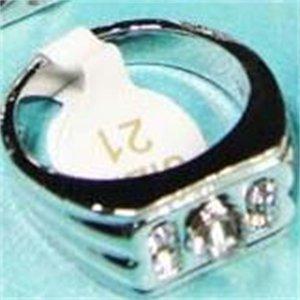 Hot Selling 10pcs Czech Rhinestones Enamel Silver Plated Mens Rings Wholesale Fashion Jewelry 124 U2