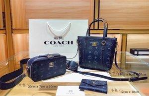 2021 NUOVO 1 + 1 + 1BAGS Elegante 3 pezzi Borsa a mano Portafoglio Lady Bag Postman Bag Borsa da viaggio G0001