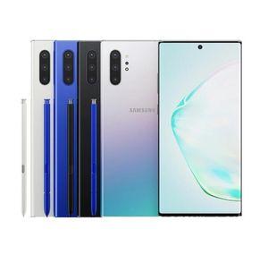 Original Samsung Galaxy Note 10 Plus N975U Phone Octa Core 12GB 256GB ROM 6.8 inch 4G Lte Unlocked Refurbished
