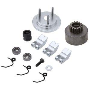Клатч колокол 14T шестерня подшипника Springs Coneengine Nut Mywheel Usge для 1/8 RC модель Nitro автомобиль HPI HSP Traxxa сотовый телефон монтирует H
