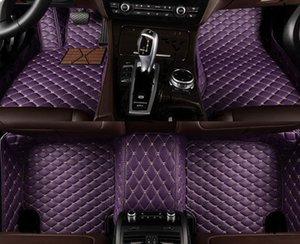 Tapis de plancher de voiture sur mesure 5 pour Audi Tous les modèles R8 RS Q3 RS4 RS5 SPORTBACK RS6 RS7 2000 Auto Accessoires