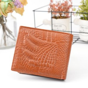 New Business Retro Short Leather Wallet Wallet Casual Leather Wallet Men's Paw Ldkbo
