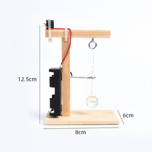 Science and technology small invention self-made earthquake alarm puzzle assembled model equipment scientific experiment diy