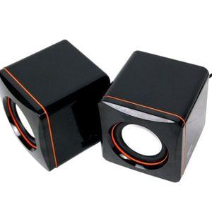 Mini Hoparlör USB Kablolu Masaüstü Hoparlör Müzik Çalar Hoparlör 3.5mm Multimedya Hoparlörler Tablet PC Bilgisayar Dizüstü
