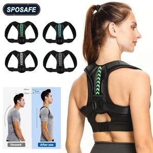 Back Support Drop Adjustable Shoulder Posture Corrector Belt Clavicle Spine Reshape Body Home Office Upper Neck