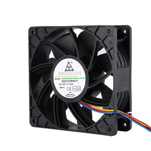Fans & Coolings CPU Miner Cooling Fan 4 Pin Intel Silent RGB Quiet PC Cooler Case 12V DC Adjust Speed Low Noise