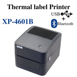 Printers XPrinter 4inch Direct Thermal Barcode Printer Label Waybill 104mm Adhesive Logistic Windows Mac For Company Supermarket