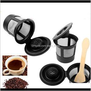 Cafe Cup Reusable Single Serve K-Cup Filter For Keurig Coffee Espresso Maker Pods 9 Pcs Lot Dec511 Zyl7N Kcuav