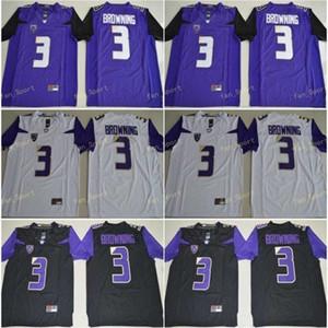 Ra Washington Huskies Jake Browning College Football Jerseys Mens 3 Jake Browning Stitched Football Shirts Cheap S-XXXL