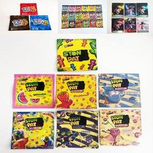 Yama Gummie Edibles Paketleme Çantaları Infused Üzüm Çilek Kiraz 500mg Mylar Çanta Cunstom Baskılı Yenilebilir Paket Şeker stokta TRRLLLI Trolli