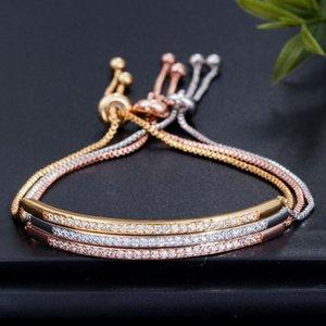 Link, Chain Created Gemstone Bangle Cuff Charm Diamonds Bracelets Fashion Jewelry Gift Wholesale