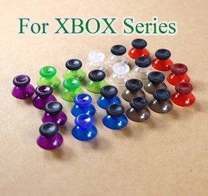 Clear Transparent Analogue Thumbsticks Caps for XBOX Series 3d Analog Mushroom Cap Joystick Stick for XBox Series S X Controller