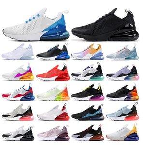 Bayan Erkek 270 Koşu Ayakkabıları Stok 270s x Paskalya Vibes Yıkanmış Mercan Pembe Üçlü Kırmızı Siyah Beyaz ABD Ruhu Teal Eğitmenler Sneakers ile Kutusu