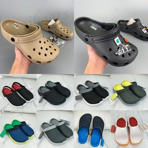 2021 Summer Shoes Sandals Hole Slip On Casual Beach Clogs Waterproof men Classic Pool Nursing Hospital latform Women Slippers Work Med F6MV#