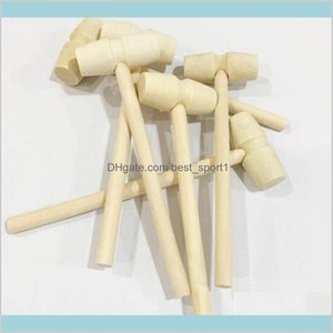 Home Garden Hand Mini Wooden Balls Toy Pounder Replacement Wood Mallets Jewelry Crafts Ndv4Q