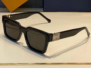 1413 Fashion Summer style Gradient lens Sunglasses UV 400 Protection for men and Women Vintage square Plank Frame Top Quality Come With Case classic eyeglasse