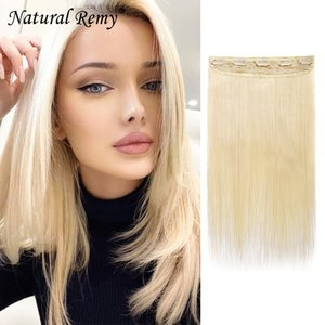 One Piece Clip In human hair extensions 1#1B#2#4#27#613# 14-26inch 80-180g