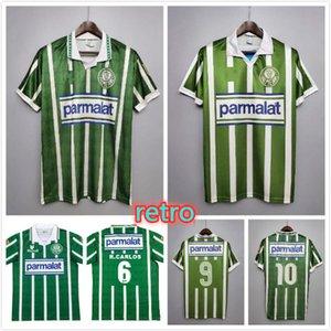 Palmeiras 1992 1993 Retro Soccer Jerseys Home Vintage Camiseta de Futbol Classic 92 93 Camicie da calcio