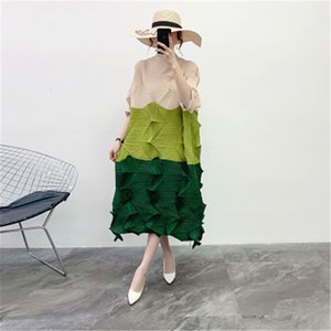 Party Dresses The spring goddess of fat mm dress brim minus age fan clothes over-the-knee irregular gentle wind the 47F2