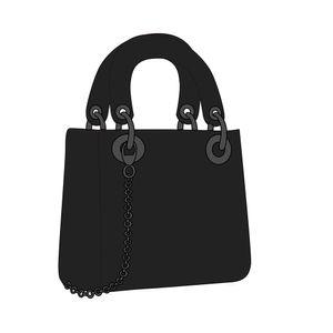 2021 Designer Luxury Handbags Purses Women Shoulder bag PU Genuine Leather with Fabric Cross-Body Saddle Handbag High Quality 0004