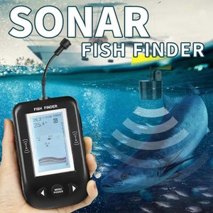 Erchang Fish Finder XF02 Sonar For Fishing 0.6-100M Portable Sounder Lake Sea Tackle Russia Warehouse