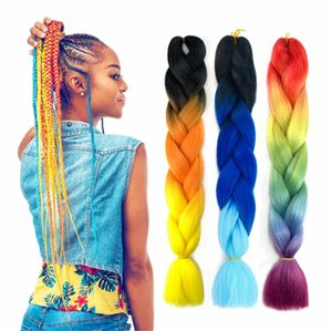 Home Headwear Dreadlocks wig men and women small African black Nepal gradient multi-color braided hair
