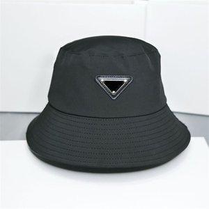 2021 Luxury Bucket Hat Beanies Designer Sun Baseball Cap Men Women Outdoor Fashion Summer Beach Sunhat Fisherman's Hats 4 Colors X0903C