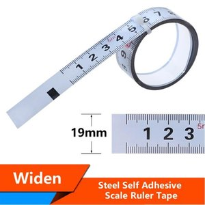 Hand & Power Tool Accessories 19mm Widen Metric Self Adhesive Ruler Miter Track Tape Measure Steel Scale For T-track Router Table Band Saw W
