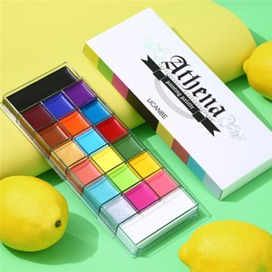Make up Palette 20 Colors Face Body Painting Oil Safe Kids Flash Tattoo Paint Art Halloween Party