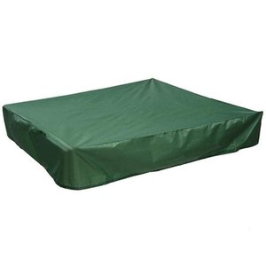 Shade Sandbox Cover, Square Dustproof Cover With Drawstring, Waterproof Sandpit Pool Green, 120 X 120cm
