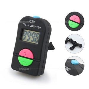 Dijital Tally Sayaç LCD Ekran Silikon Düğmeleri Pille çalışan Bip Uyarı Eğitimi Sayımı Maks. 9999 Sayaç El Kitabı