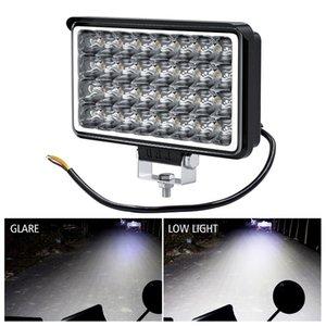 12-80V square four-inch 32 lamp beads high-brightness reflector LED retrofit external headlights