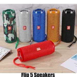 Flip 5 Bluetooth Speaker Flip5 Portable Mini Wireless Outdoor Waterproof Subwoofer Speakers Support TF USB Card DHL