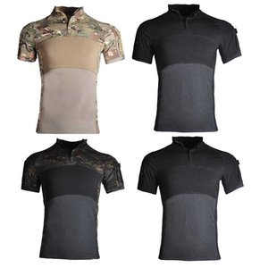 Men's Airsoft Tactical Camping Polo Men Slim Fit Quick Dry t Shirts Russian Us Army Hunting Tee Shirt Crop Top