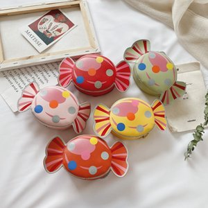 Girl Candy Handbags Shoulder Bag Kids Coin Purse PU Cute Fun Handbag Children Wallet Money Bags 0128
