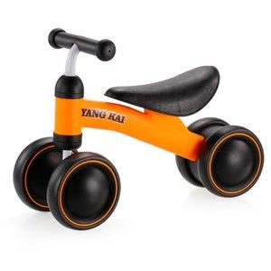Crianças Três Roda Balanço Bicicleta Crianças Scooter Baby Walker 1-3 Anos Triciclo Passeio no Presente Brinquedos Para Conjuntos de Alta Qualidade