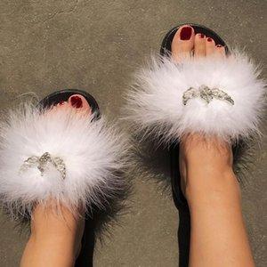 Terlik tüy melek sandalet teknolojisi kadın ayakkabı