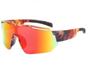 Gafas de sol de moda Gafas de ciclismo al aire libre para exteriores Deportes de color Sunglassefor Hombres y mujeres