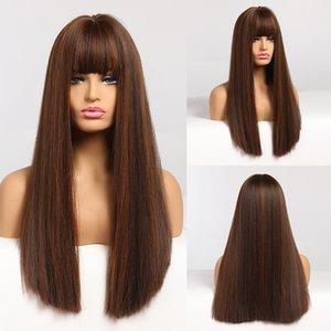 Dropshipping Синтетические парики Длинные Волнистые Парики для Женщин Теплостойкий Косплей Парик Натуральные Волосы