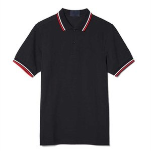 Fred Men T-shirt Casual Polo Polo Leaf Embroidery Inghilterra Polos Solid Polos Summer Cotton Golf Tennis T-shirt T-shirt perry jersey vestiti bianco BT0156