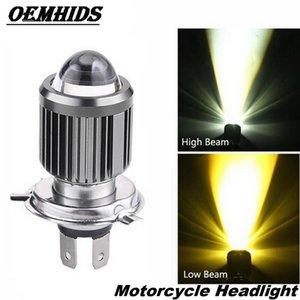 Car Headlights OEMHIDS H4 LED 3000K 6500K 20W Motorcycle Headlight Bulb Hi Lo Beam Motorbike Scooter ATV Accessories Condensing Len Fog Ligh