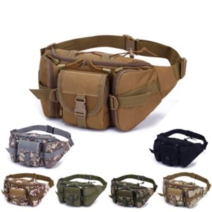 Outdoor Sports packs Large-Capacity Waterproof Tactical Waist Bag Utility Pouch Riding Pockets Phone Camera Hunting Bags