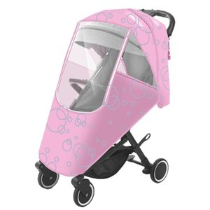 Stroller Parts & Accessories Baby Cover Universal Transparent Accessory Waterproof Rain Windshield For Strollers Pushch