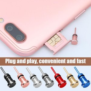 3.5mm Earphone Dust Plug Jack Interface Antidust Mobile Phone Card Retrieve Pin Arrival Cell Anti-Dust Gadgets