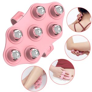 Roller Ball Body Glove AntiCellulite Muscle Pain Relief r Neck Back Shoulder Leg Massage Stovepipe Meridian Brush