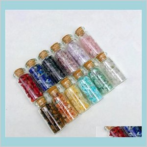 12 Types Irregular Natural Gemstone Specimen Mineral Crystal Agate Jade Quartz Wishing Bottle Crushed Stone Wholesale Ry6Zl Qw2Tl