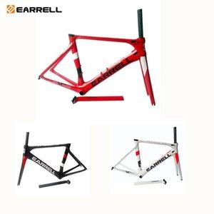 Велосипедные рамки 2021 углеродное волокно Дорожная рама DI2Механическая Racing Frame + Fork + Seatspost + гарнитура для наушников