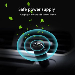 Mini Portable USB Air Purifier Air Cleaner Car Fresh Air Negative Ion Odor Removal Deodorant Auto Product Car Accessories