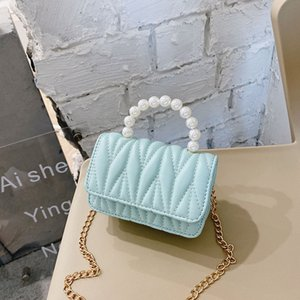 Pearls Purple Purses And Handbags For Kids Girls 2021